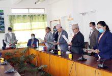 Photo of राष्ट्रियसभाका चारै समितिका सभापतिद्वारा शपथ