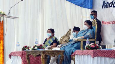 Photo of राष्ट्रपतिद्वारा रानीपोखरी र दरबार हाइस्कूल उद्घाटन