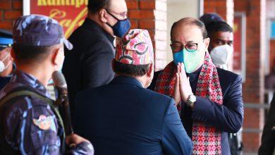Photo of भारतका विदेश सचिव हर्षबर्द्धन श्रृंगला काठमाडौंमा
