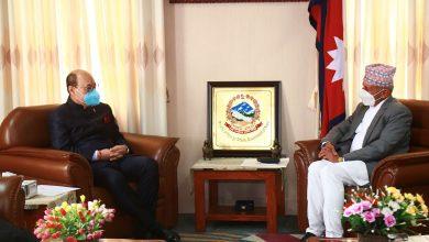 Photo of भारतीय विदेश सचिव दिनभर भेटघाटमा