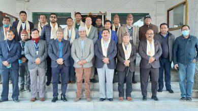Photo of आनका नवनिर्वाचित पदाधिकारीलाई नेपाल टेलिभिजनमा स्वागत