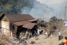 Photo of फुङ्लिङमा आगलागीबाट ३३८ परिवार विस्थापित
