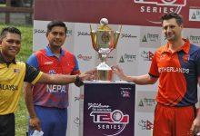 Photo of नेपाल र मलेसियाबीच आज अन्तर्राष्ट्रिय त्रिकोणात्मक टी-ट्वान्टी क्रिकेट खेल हुँदै