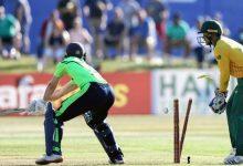 Photo of आयरल्याण्डसँगको पहिलो टी-ट्वान्टी क्रिकेटमा साउथ अफ्रिकाको जित