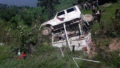 Photo of बैतडीको सिगासमा जीप दुर्घटना, २ जनाको मृत्यु, ९ जना घाइते