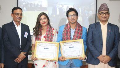 Photo of प्रकाश र सुनिता : विपद् जोखिम न्यूनीकरण सद्भावना दूत