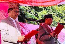 Photo of मुख्यमन्त्री पाण्डेद्वारा शपथ, तीन मन्त्री नियुक्त