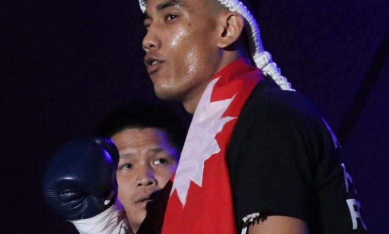 Photo of 'हिट ४९ प्रोफेसनल बक्सिङ च्याम्पियनसिप २०२१' मा भिड्दै हिमचितुवा घिमिरे